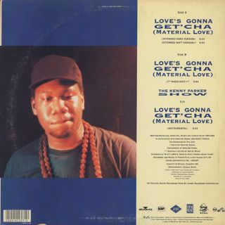 Boogie Down Productions / Love's Gonna Get'cha (Material Love) back
