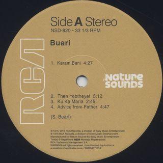 Buari / S.T. (Re) label