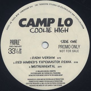 Camp Lo / Coolie High back