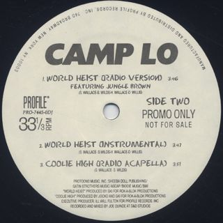 Camp Lo / Coolie High label