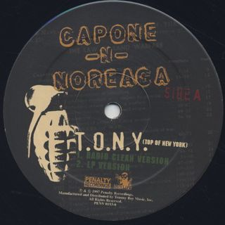 Capone-N-Noreaga / T.O.N.Y. (Top Of New York) label