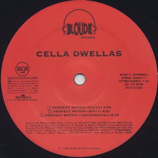 Cella Dwellas / Perfect Match label
