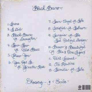 Choosey & Exile / Black Beans back