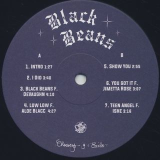 Choosey & Exile / Black Beans label