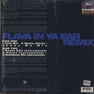 Craig Mack / Flava In Ya Ear (Remix) back