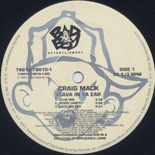 Craig Mack / Flava In Ya Ear (Remix) label