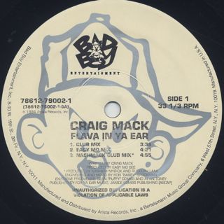 Craig Mack / Flava In Ya Ear label