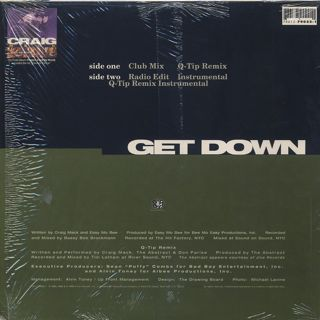 Craig Mack / Get Down (Remix) back