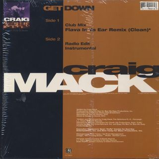 Craig Mack / Get Down back
