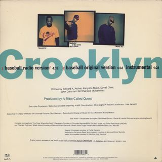 Crooklyn Dodgers / Crooklyn back