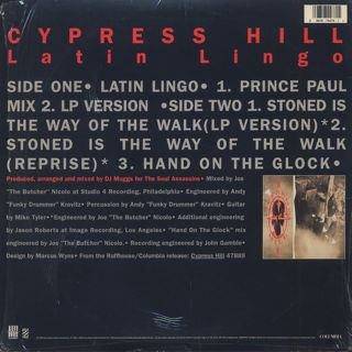 Cypress Hill / Latin Lingo back