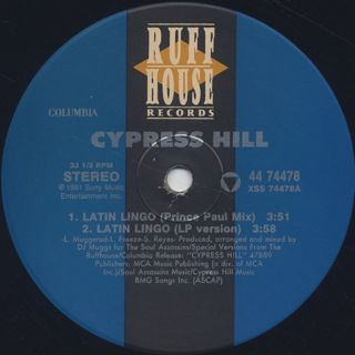 Cypress Hill / Latin Lingo label