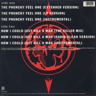 Cypress Hill / The Phuncky Feel One c/w How I Could Just Kill A Man back