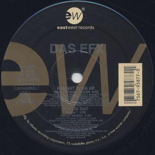 Das EFX / Kaught In Da AK (Remix) label