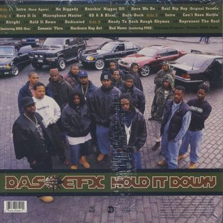 Das Efx / Hold It Down back