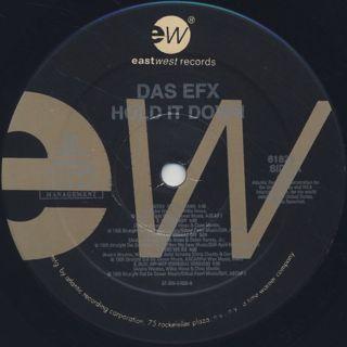 Das Efx / Hold It Down label