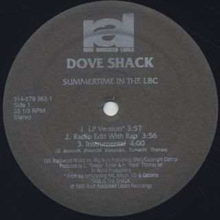 Dove Shack / Summertime In The LBC label