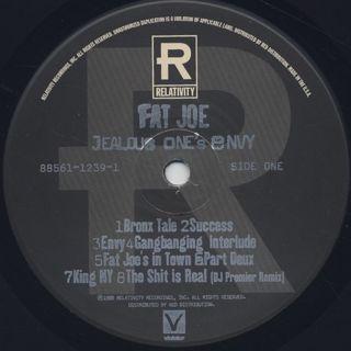 Fat Joe / Jealous One's Envy label