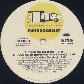 Funkdoobiest / Rock On label