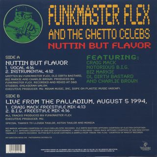 Funkmaster Flex & The Ghetto Celebs / Nuttin But Flavor back