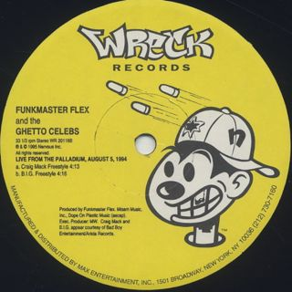 Funkmaster Flex & The Ghetto Celebs / Nuttin But Flavor label