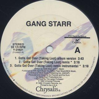 Gang Starr / Gotta Get Over back