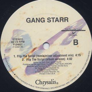 Gang Starr / Gotta Get Over label