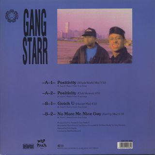 Gang Starr / Positivity back