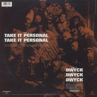 Gang Starr / Take It Personal back