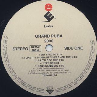 Grand Puba / 2000 label