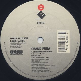 Grand Puba / Ya Know How It Goes label