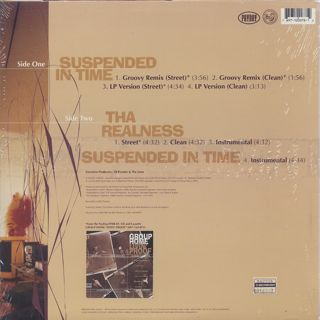 Group Home / Suspended In Time back