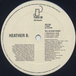 Heather B. / All Glocks Down back