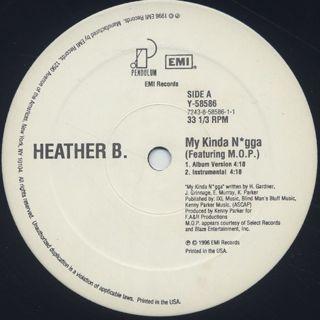 Heather B. / My Kinda N*gga back