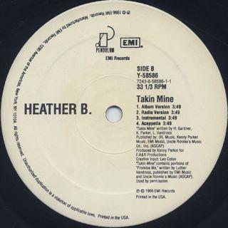 Heather B. / My Kinda N*gga label