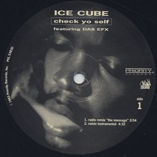 Ice Cube / Check Yo Self label