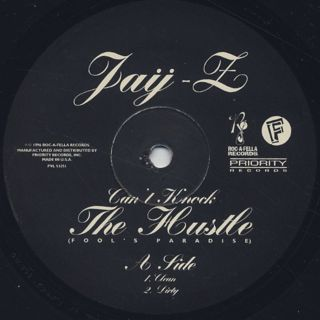 Jay-Z / Can't Knock The Hustle (Fool's Paradise Remix) label