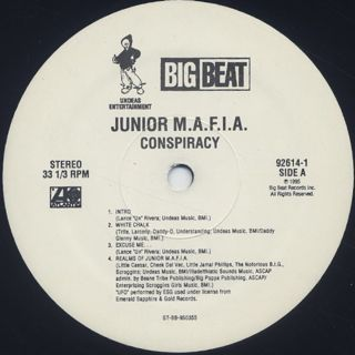 Junior M.A.F.I.A. / Conspiracy label