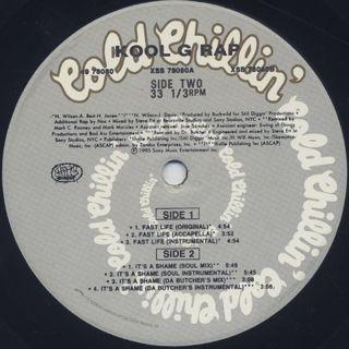 Kool G Rap / Fast Life label