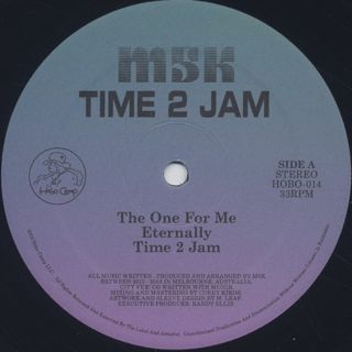 M5K / Time 2 Jam label