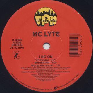 MC Lyte / I Go On