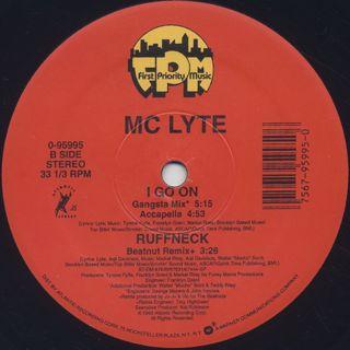 MC Lyte / I Go On back