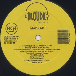 Mad Kap / Da Whole Kit And Kaboodle label