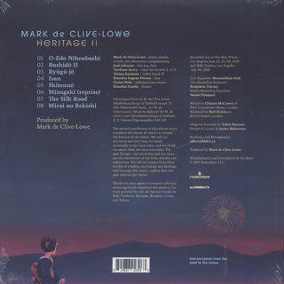 Mark de Clive-Lowe / Heritage II back