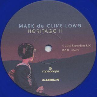 Mark de Clive-Lowe / Heritage II label