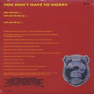 Mary J. Blige / You Don't Have To Worry back