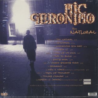 Mic Geronimo / The Natural(LP) back