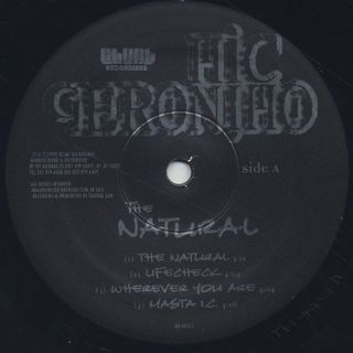 Mic Geronimo / The Natural(LP) label