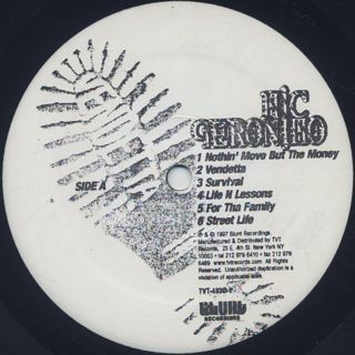 Mic Geronimo / Vendetta label