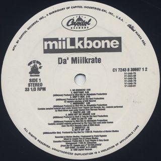 Miilkbone / Da' Miilkrate label